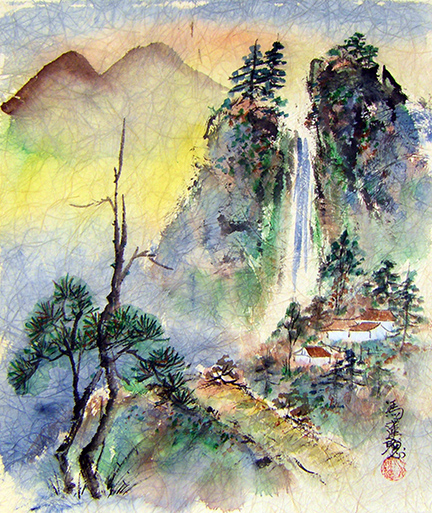Artist profile: Charlotte Fung-Miller, Chinese brush painting