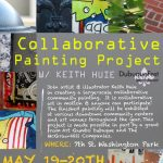 DubuqueFest Collaborative Painting Project